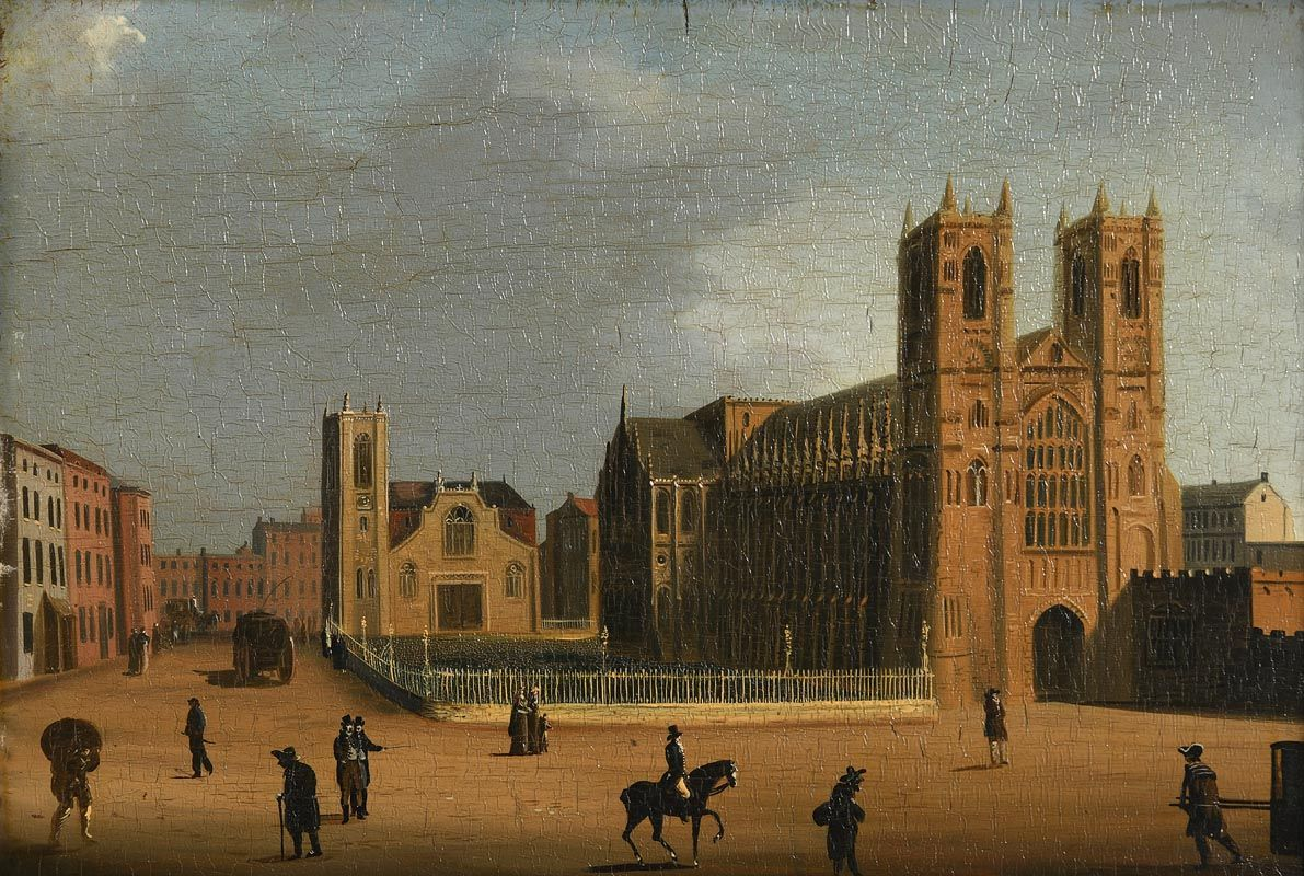 William Sadler, The Town Square at Morgan O'Driscoll Art Auctions