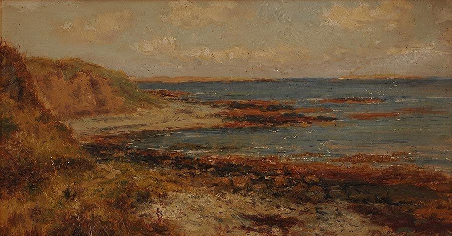 Alexander Williams RHA (1846-1930), Seascape at Morgan O'Driscoll Art Auctions