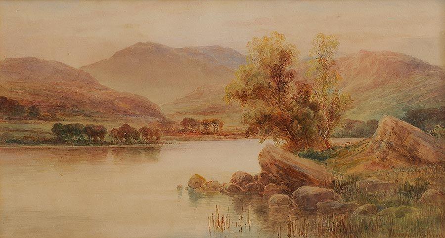 Alexander Williams RHA (1846-1930), Lakes of Killarney at Morgan O'Driscoll Art Auctions