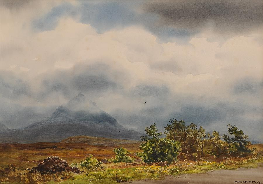 Frank Egginton RCA (1908-1990), Errigal in the Morning Mist at Morgan O'Driscoll Art Auctions