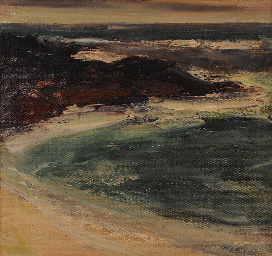 Peter Collis RHA (1929-2012), Seascape at Morgan O'Driscoll Art Auctions