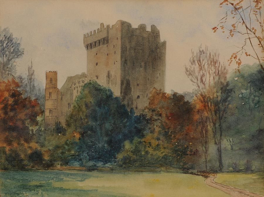 Douglas Alexander RHA (1871-1945), Blarney Castle at Morgan O'Driscoll Art Auctions