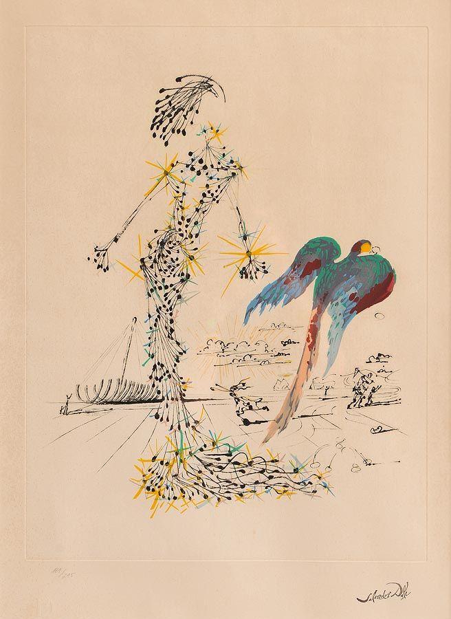 Salvador Dali (1904-1989) Spanish, Bird at Morgan O'Driscoll Art Auctions
