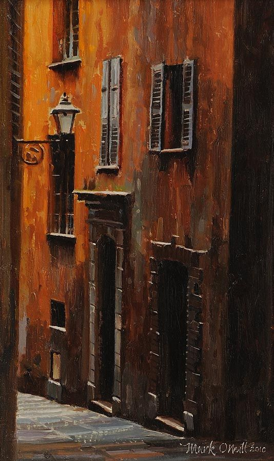 Mark O'Neill (b.1963), Morning Shadow Old Town, Nice at Morgan O'Driscoll Art Auctions