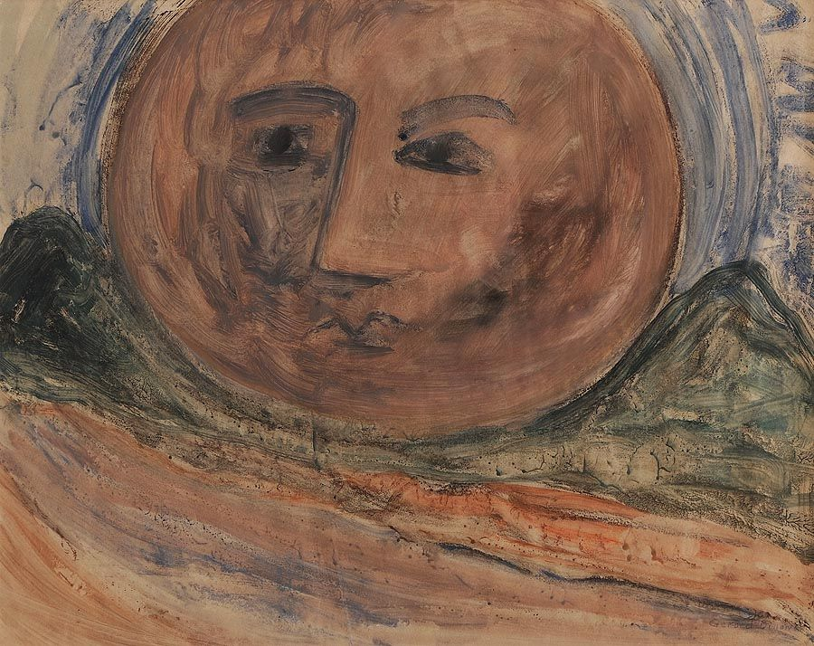 Gerard Dillon RHA RUA (1916-1971), Connemara Moon at Morgan O'Driscoll Art Auctions
