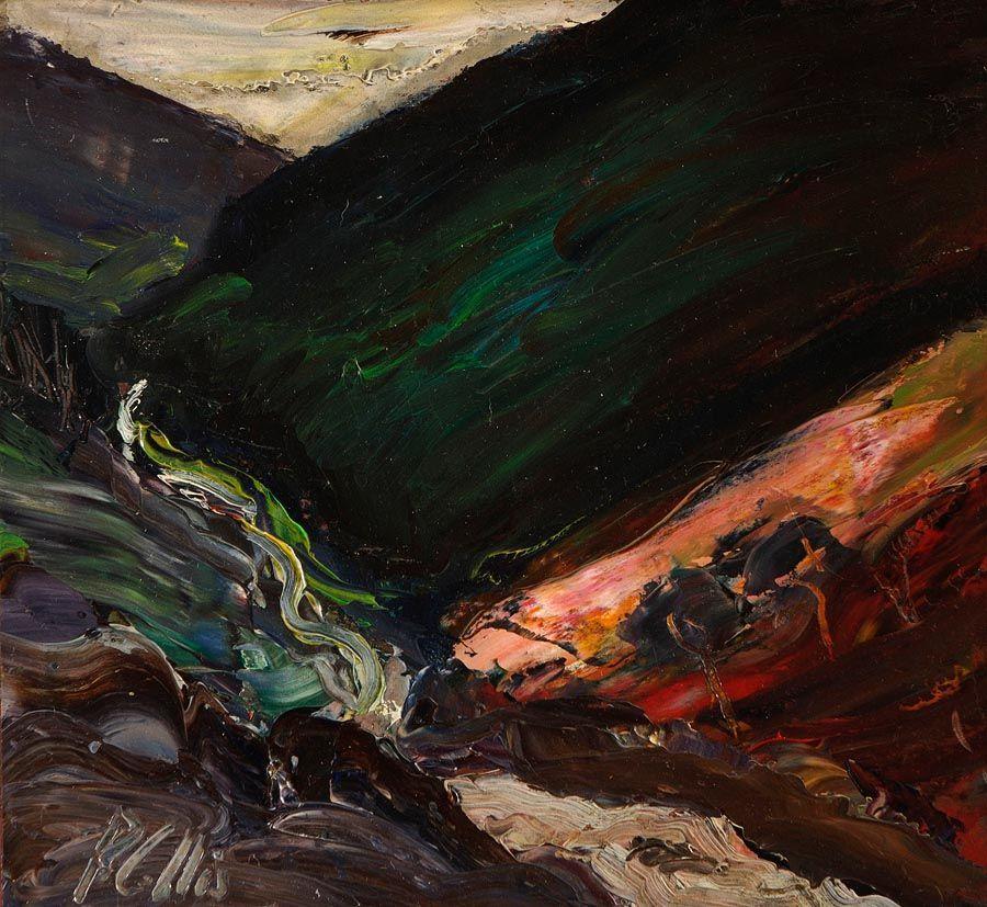 Peter Collis RHA (1929-2012), Fast Running Stream, Glendalough, Co. Wicklow at Morgan O'Driscoll Art Auctions