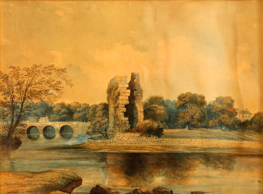 John E Bosanquet (act.c.1854-c.1869), View of Cork at Morgan O'Driscoll Art Auctions