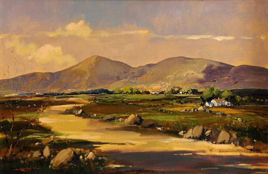 George Gillespie RUA (1924-1996), Connemara Landscape at Morgan O'Driscoll Art Auctions