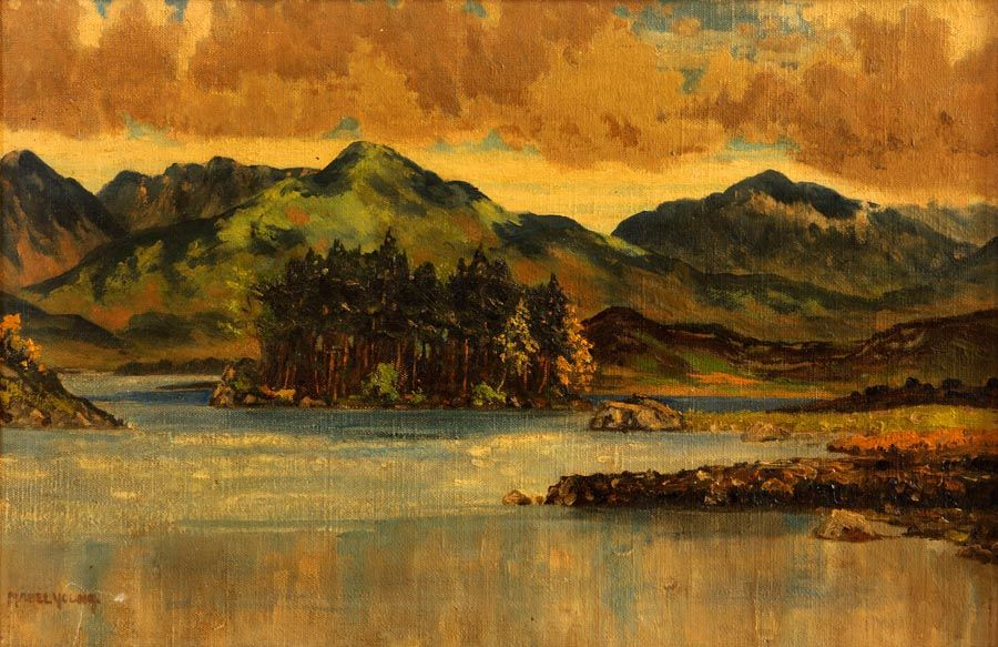 Mabel Young (1889-1974), Connemara Landscape at Morgan O'Driscoll Art Auctions