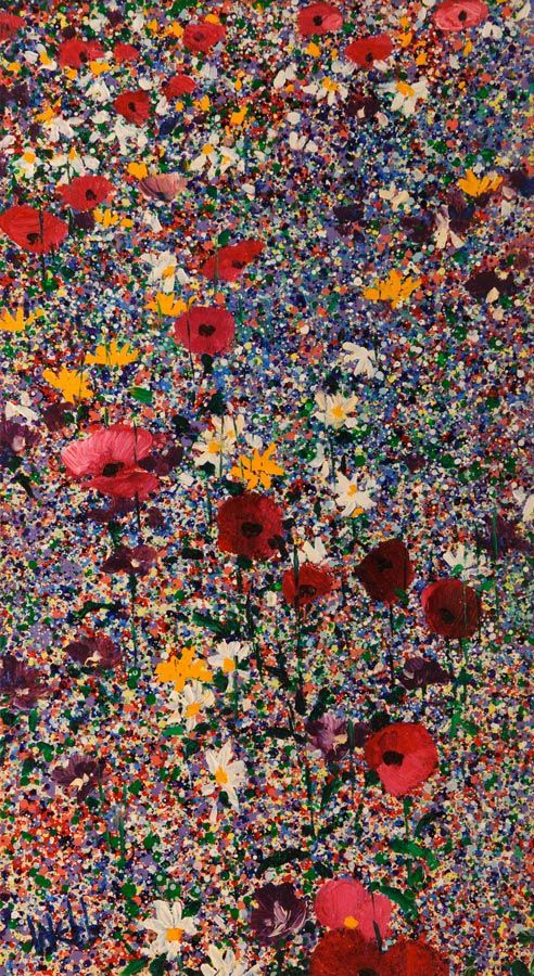 Kenneth Webb RWA FRSA RUA (b.1927), Wild Flower Meadow at Morgan O'Driscoll Art Auctions