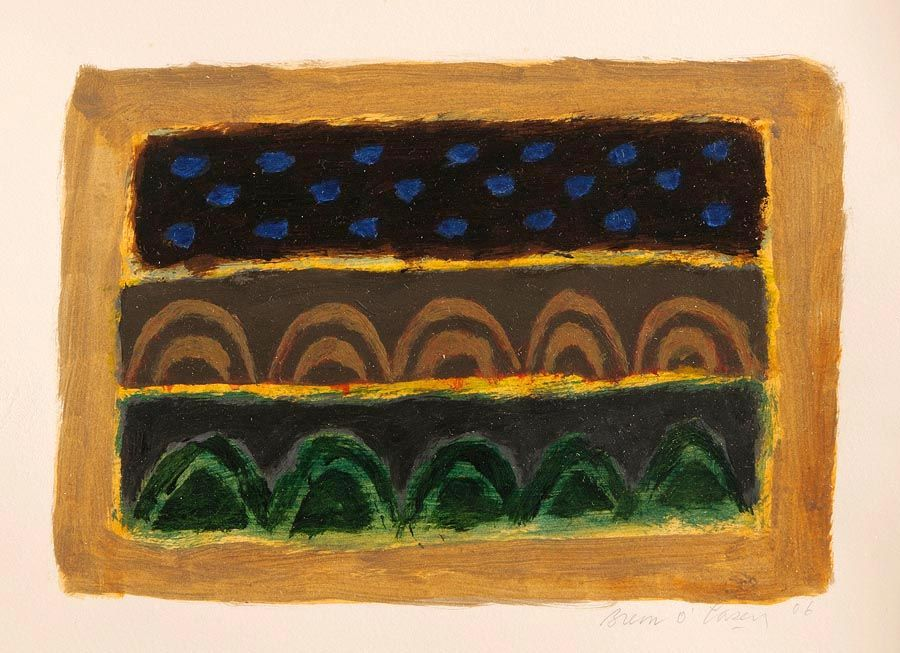 Breon O'Casey (1928-2011), Dark Landscape at Morgan O'Driscoll Art Auctions