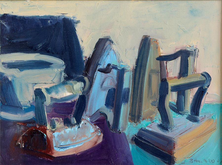 Brian Ballard RUA (b.1943), Still Life - Four Irons at Morgan O'Driscoll Art Auctions