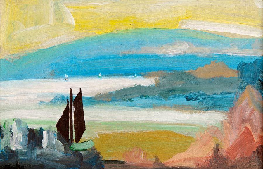 Markey Robinson (1918-1999), Setting Sail at Morgan O'Driscoll Art Auctions