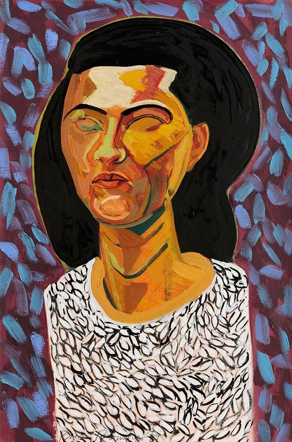 Brian Bourke HRHA (b.1936), Study of a Lady at Morgan O'Driscoll Art Auctions