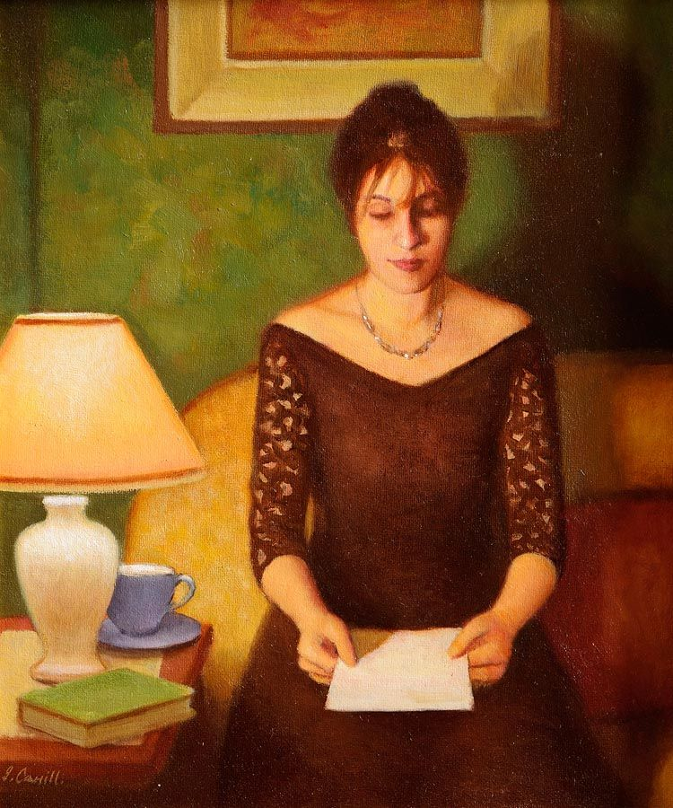 James Cahill (20th/21st Century), Anne at Morgan O'Driscoll Art Auctions