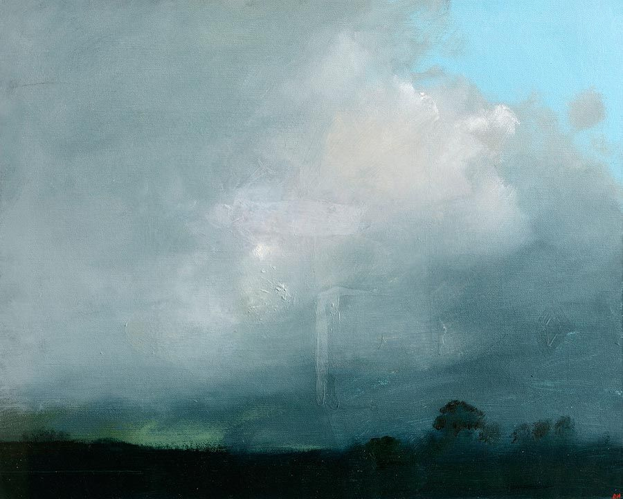 Brian Harte (20th/21st Century), Stormy Sky at Morgan O'Driscoll Art Auctions
