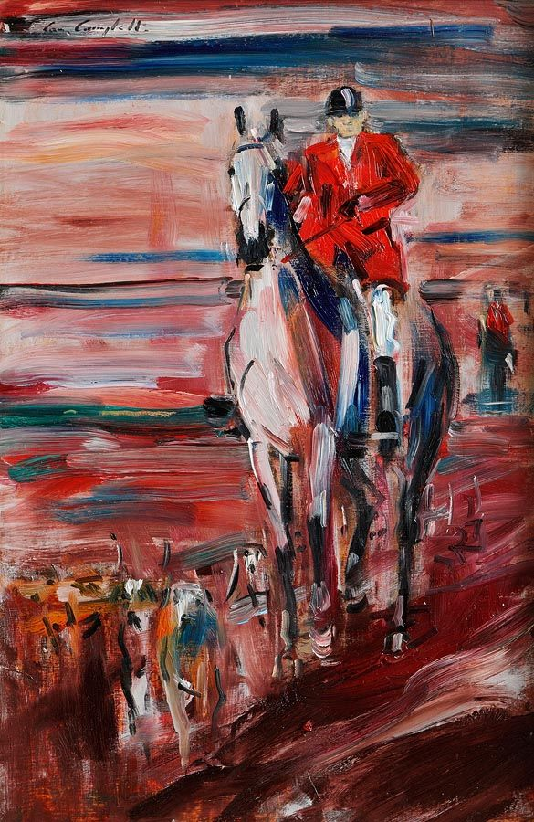 Cornelius Campbell (20th/21st Century), Hunt Scene at Morgan O'Driscoll Art Auctions