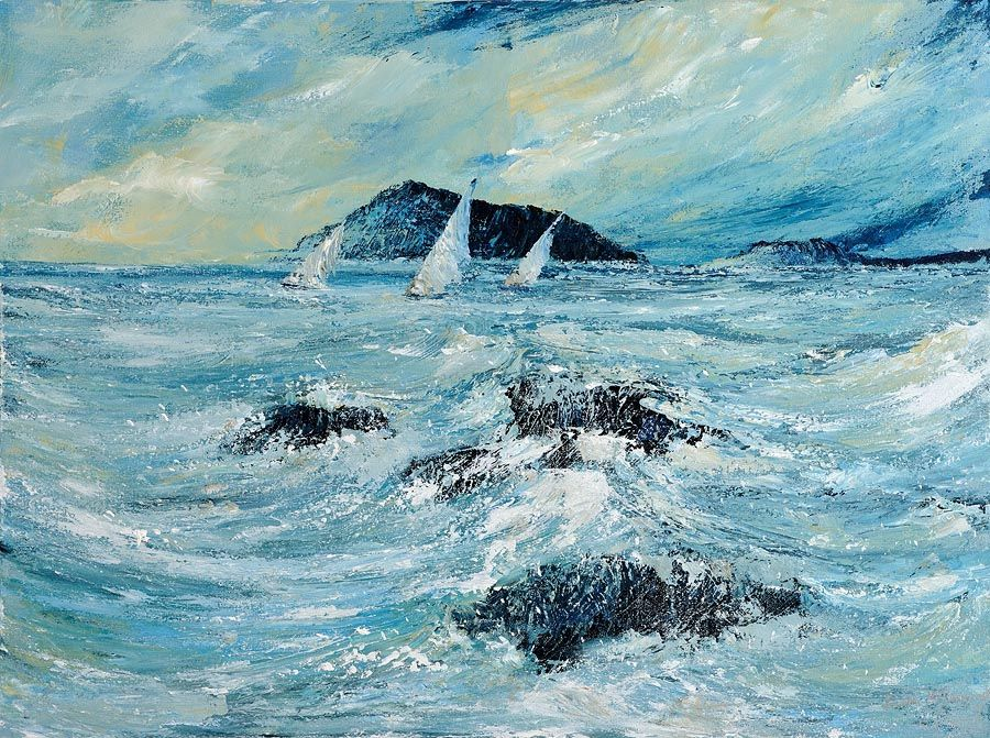 Don Meaney (20th/21st Century), Windward, Sailing in West Cork at Morgan O'Driscoll Art Auctions