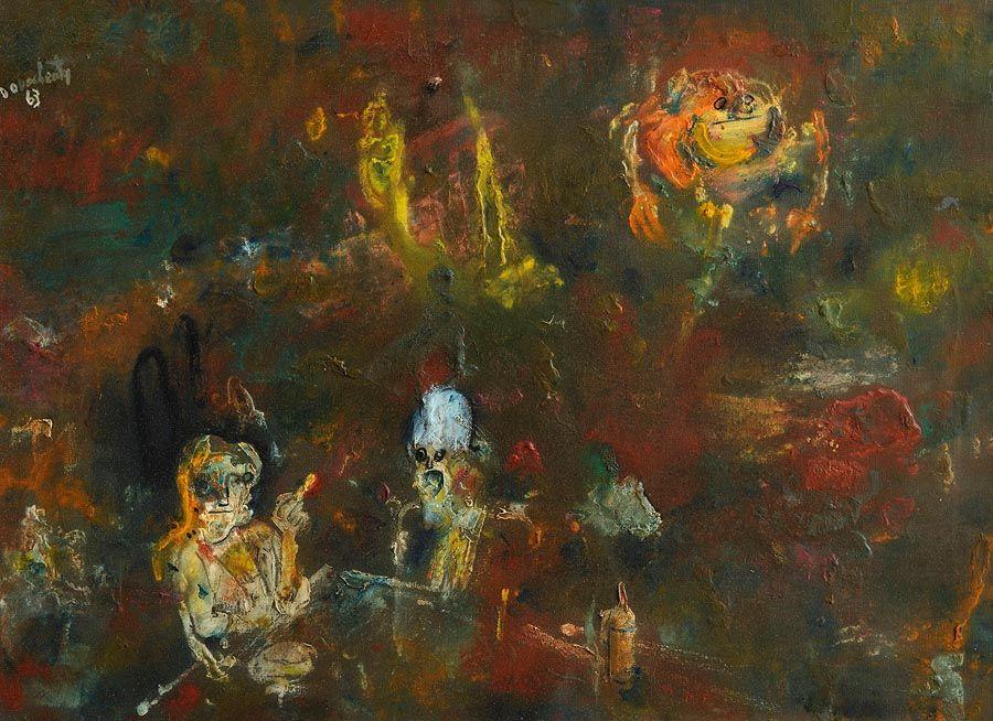 David O'Doherty (b.1935), Evening Out at Morgan O'Driscoll Art Auctions