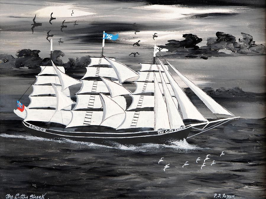 Patsy Dan Rodgers (20th/21st Century), The Cutty Sark at Morgan O'Driscoll Art Auctions