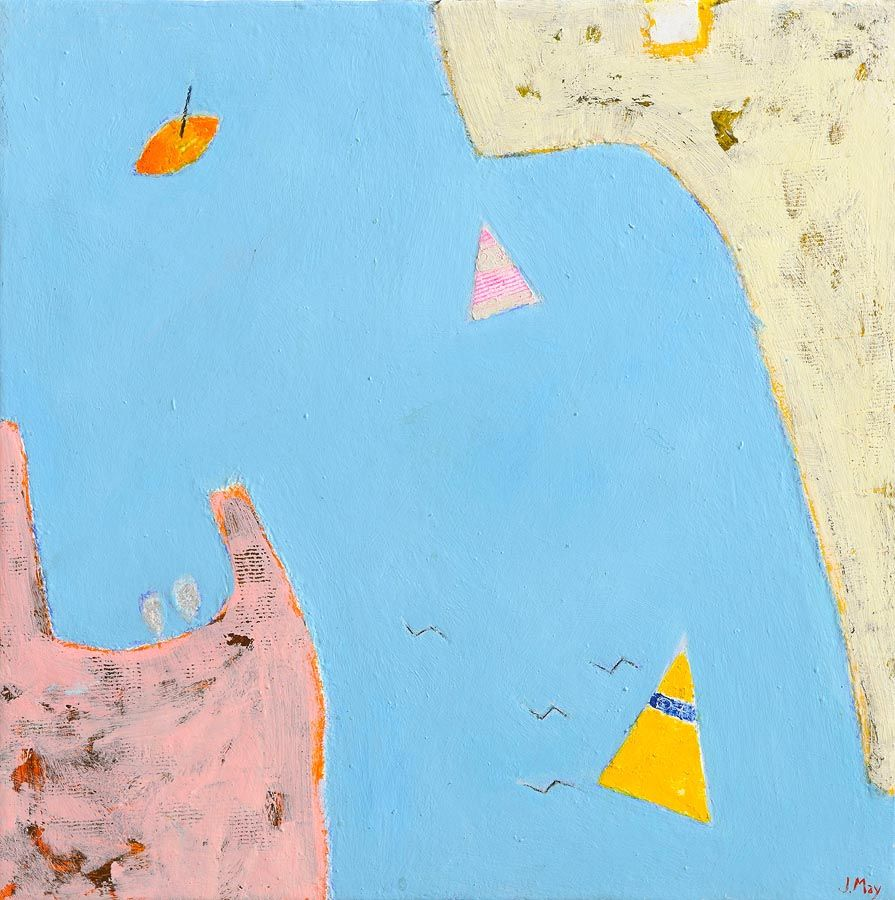 James May RUA (20th/21st Century), At the Turn of the Tide at Morgan O'Driscoll Art Auctions