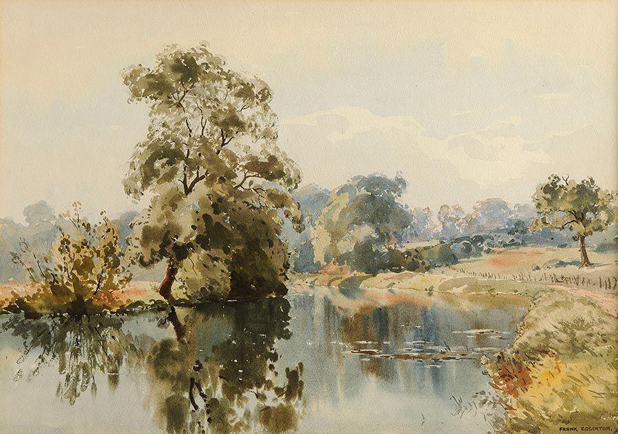 Frank Egginton RCA (1908-1990), Meandering Stream at Morgan O'Driscoll Art Auctions