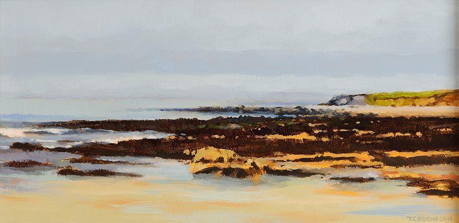 Trevor Geoghegan (b.1946), Headland, Clare at Morgan O'Driscoll Art Auctions