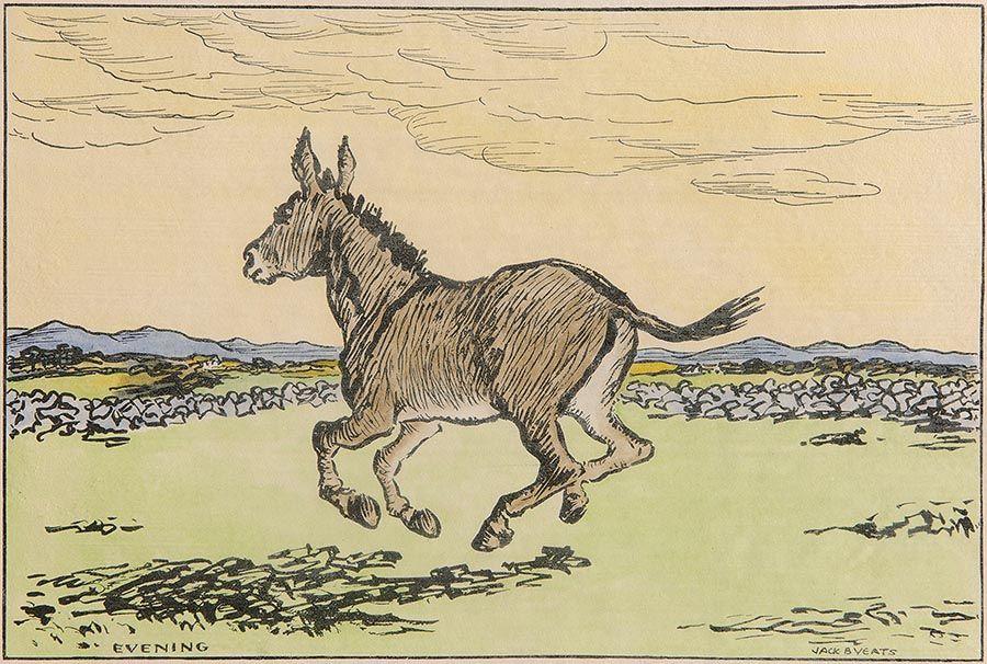 Jack Butler Yeats RHA (1871-1957), Evening at Morgan O'Driscoll Art Auctions