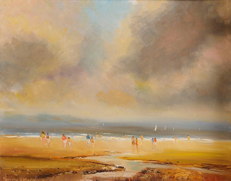 Norman J. McCaig (1929-2001), A Walk on the Beach at Morgan O'Driscoll Art Auctions