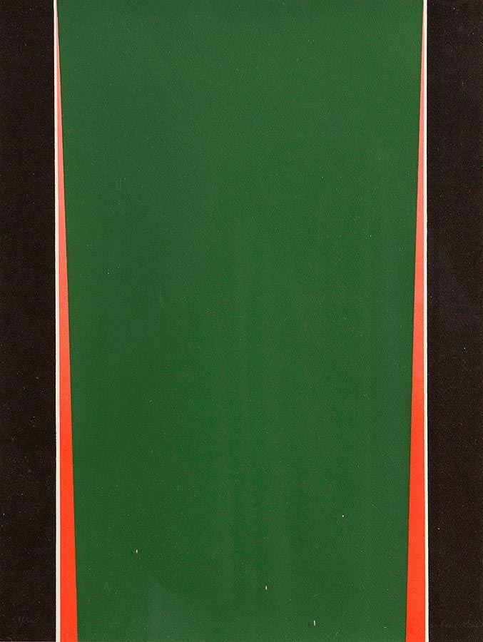 Cecil King (1921-1986), Red, Black & Green at Morgan O'Driscoll Art Auctions