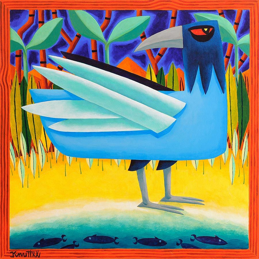 Graham Knuttel (b.1954), Bird of Paradise at Morgan O'Driscoll Art Auctions