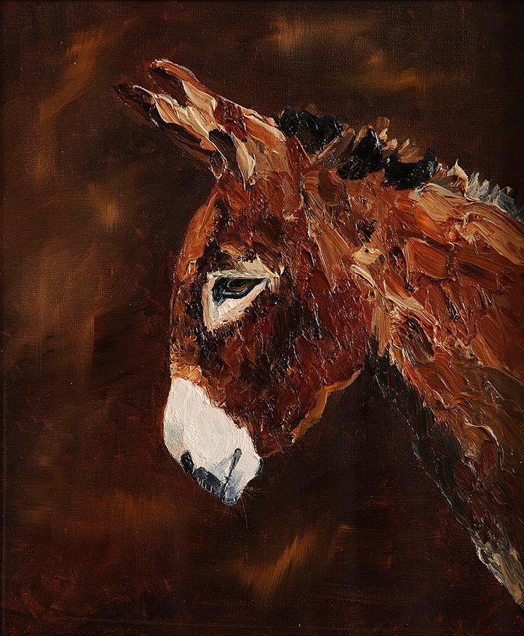 Michael Smyth (b.1961), Head Study, Donkey at Morgan O'Driscoll Art Auctions
