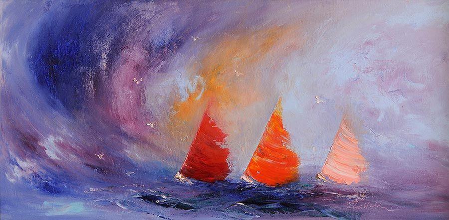 Carol Ann Waldron (b.1948), Racing The Tide at Morgan O'Driscoll Art Auctions
