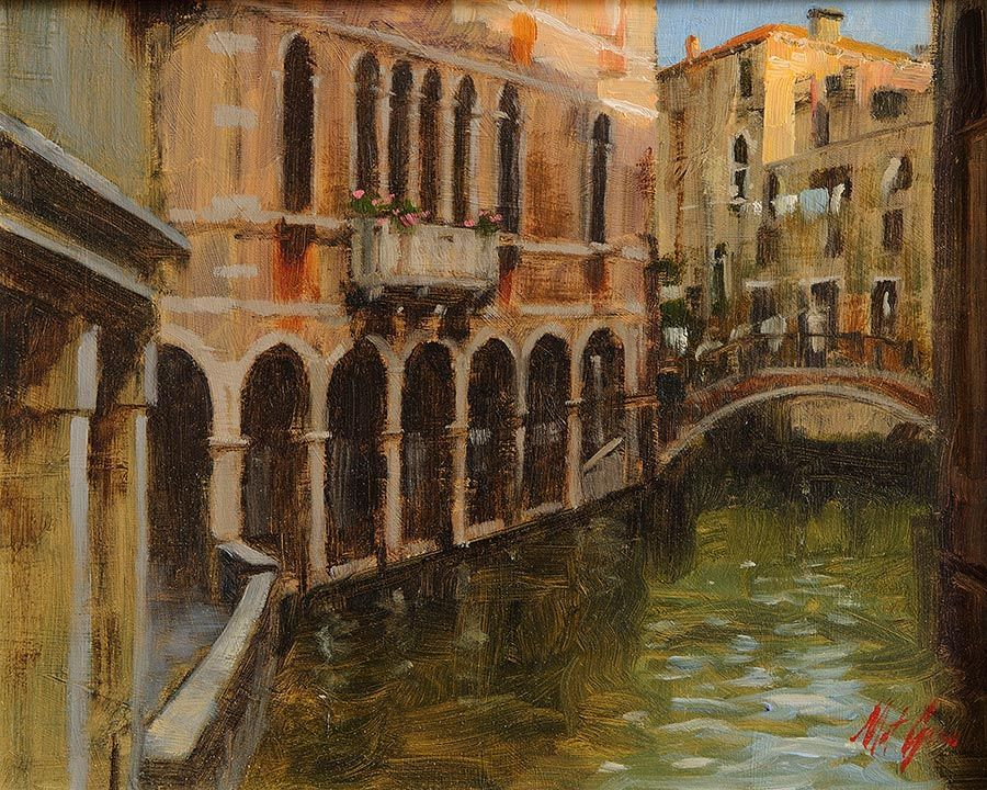 Mat Grogan (20th/21st Century), Venice at Morgan O'Driscoll Art Auctions