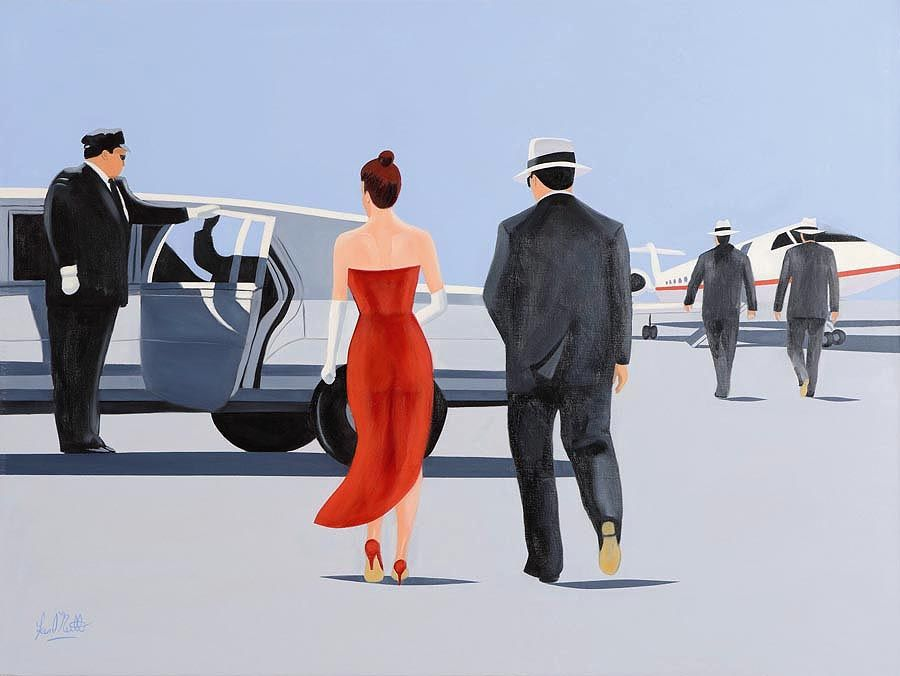 Ken O'Neill (20th/21st Century), Date With Destiny at Morgan O'Driscoll Art Auctions