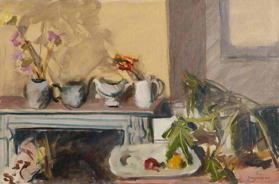 Brian Ballard RUA (b.1943), Interior at Morgan O'Driscoll Art Auctions