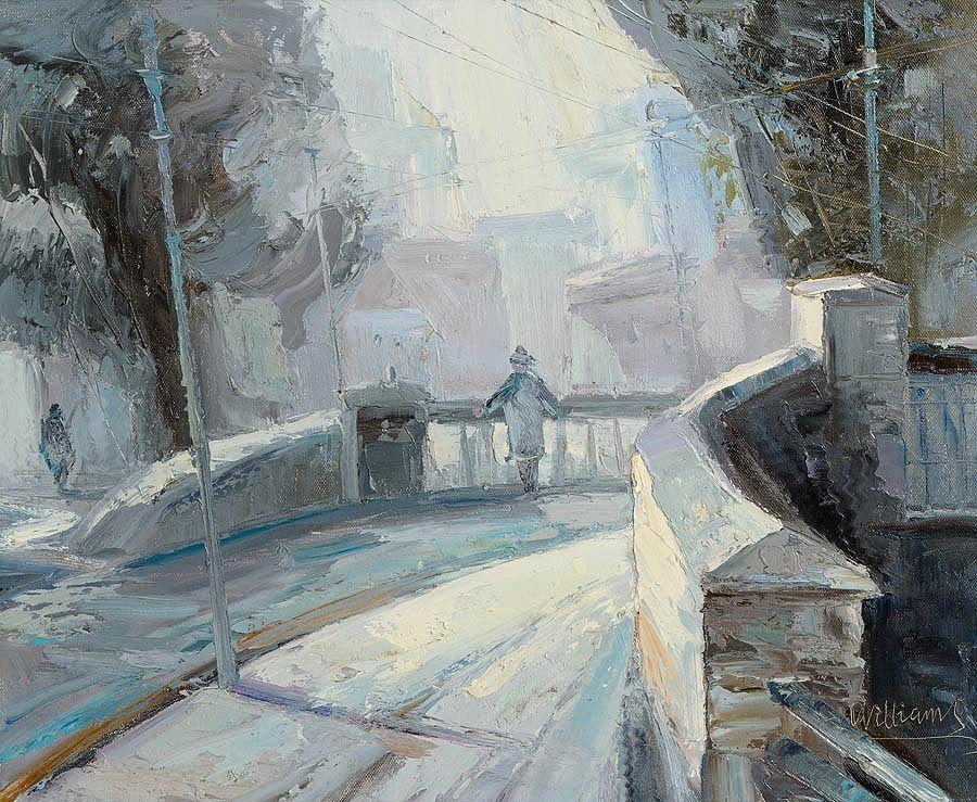 Stuart Williams (b.1973), Talbot Street Bridge at Morgan O'Driscoll Art Auctions