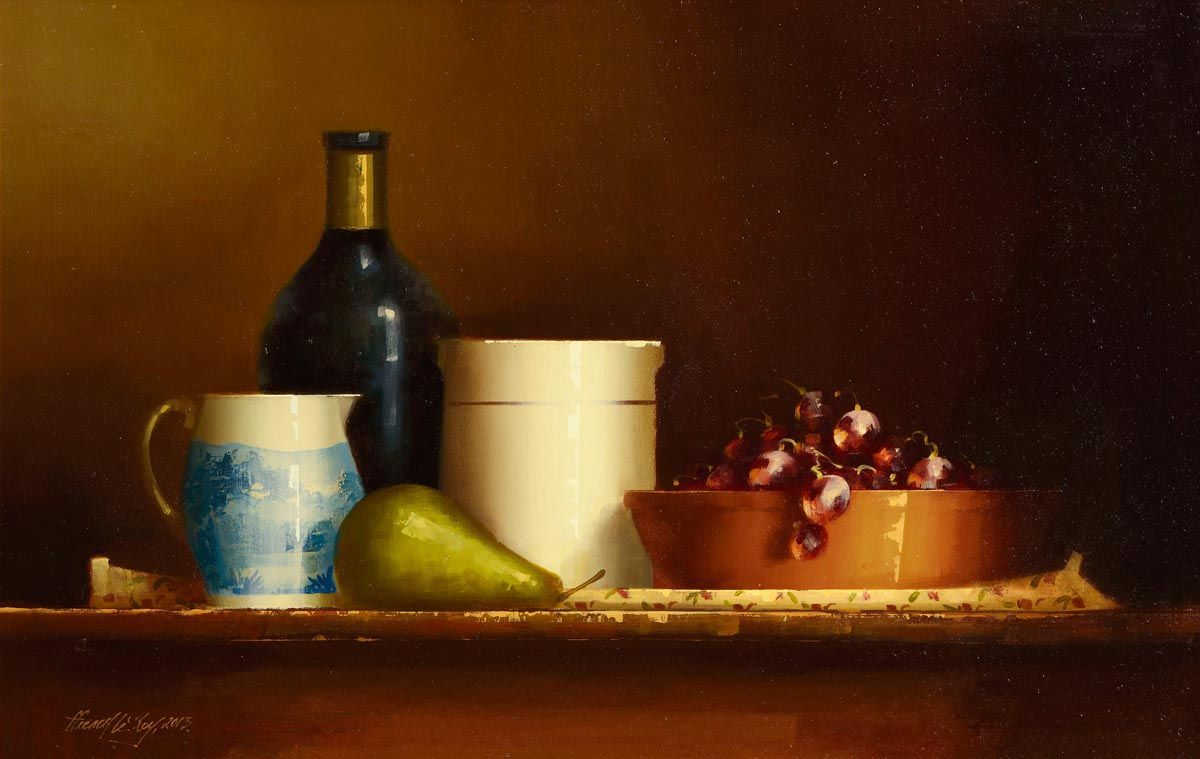 David Ffrench Le Roy (b.1971), The Autumn Table at Morgan O'Driscoll Art Auctions
