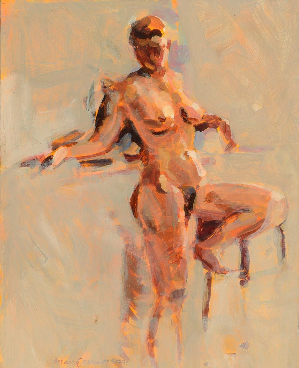 Mark O'Neill (b.1963), Female Nude Study at Morgan O'Driscoll Art Auctions