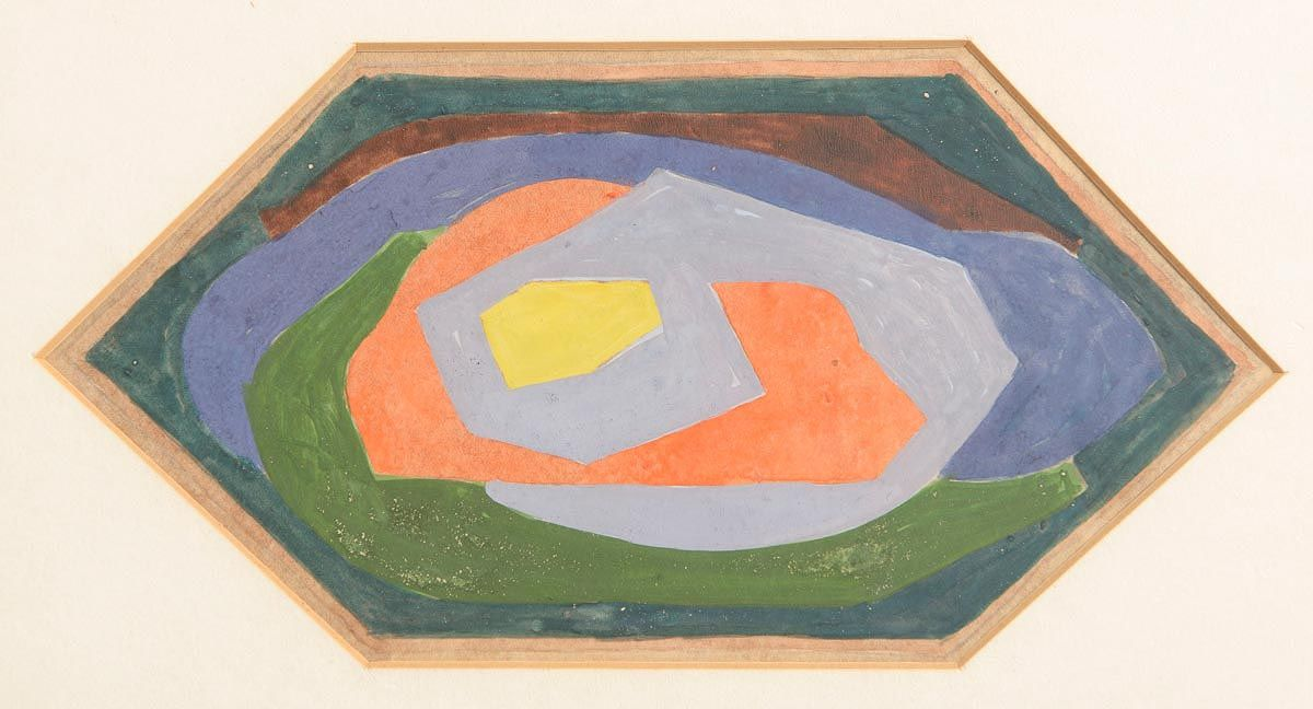 Mainie Jellet (1897-1944), Abstract Composition at Morgan O'Driscoll Art Auctions