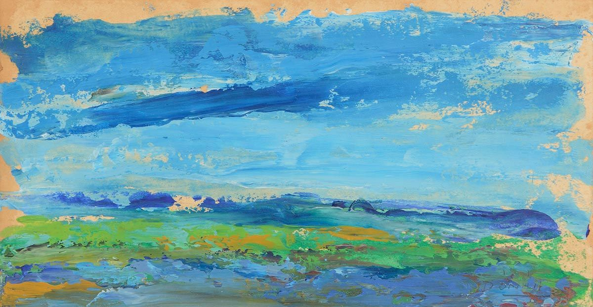 Daniel O'Neill (1920-1974), Landscape West of Ireland at Morgan O'Driscoll Art Auctions