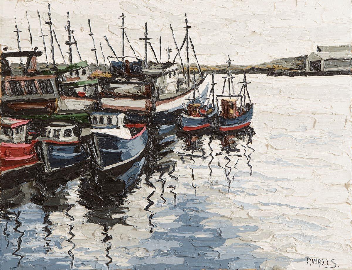 Paul Walls (b.1965), Harbour Killybegs Reprise I at Morgan O'Driscoll Art Auctions