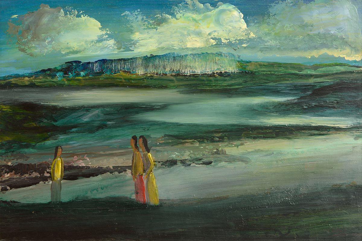 Daniel O'Neill (1920-1974), Figures in Landscape at Morgan O'Driscoll Art Auctions