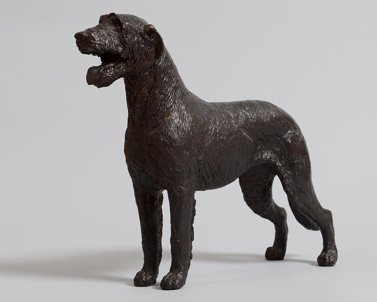 Stephen McKeown (20th/21st Century), Irish Wolfhound at Morgan O'Driscoll Art Auctions