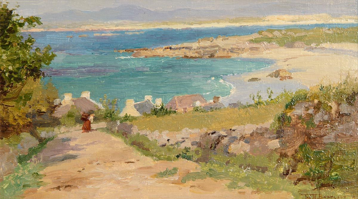 William Henry Bartlett, Dog Bay, Donegal at Morgan O'Driscoll Art Auctions