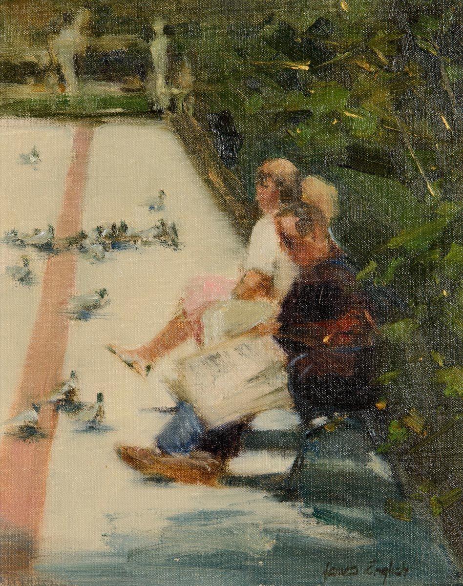 James English, Plaza Concordia, Seville at Morgan O'Driscoll Art Auctions