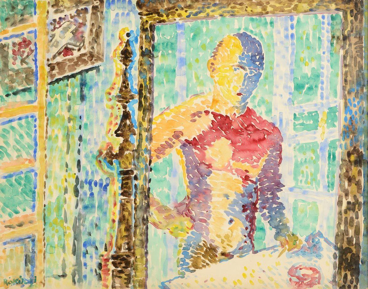 Basil Ivan Rakoczi, Self Potrait at Morgan O'Driscoll Art Auctions
