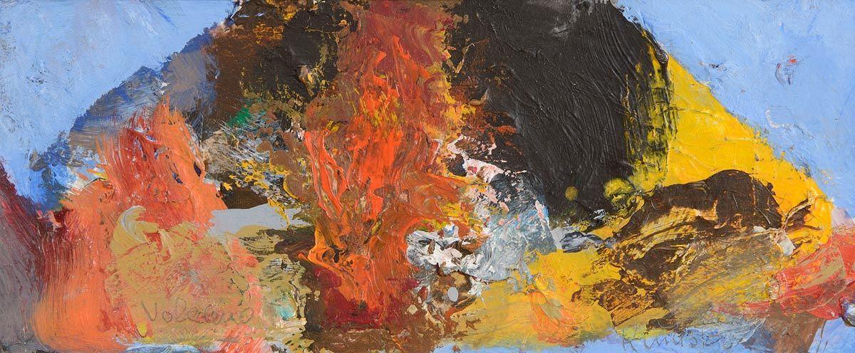 Richard Kingston, Volcano at Morgan O'Driscoll Art Auctions