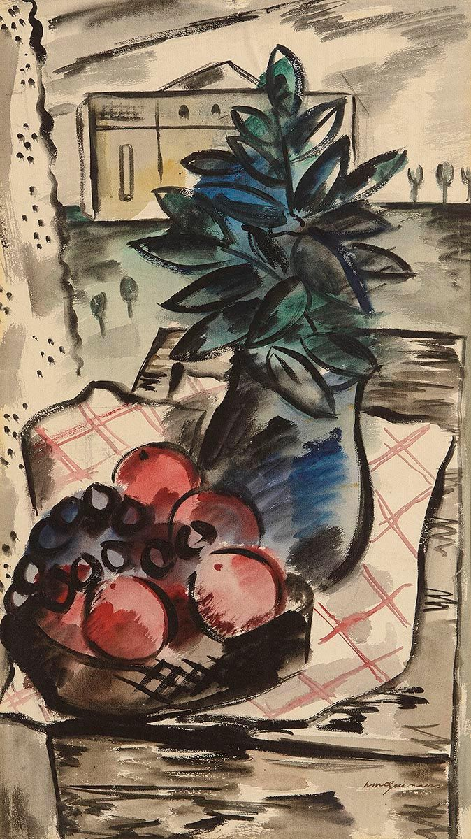 Norah McGuinness, Still Life and Landscape at Morgan O'Driscoll Art Auctions