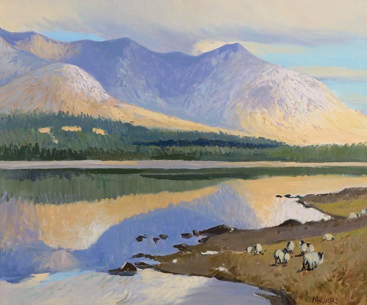 Cecil Maguire, Inagh Valley, Connemara at Morgan O'Driscoll Art Auctions